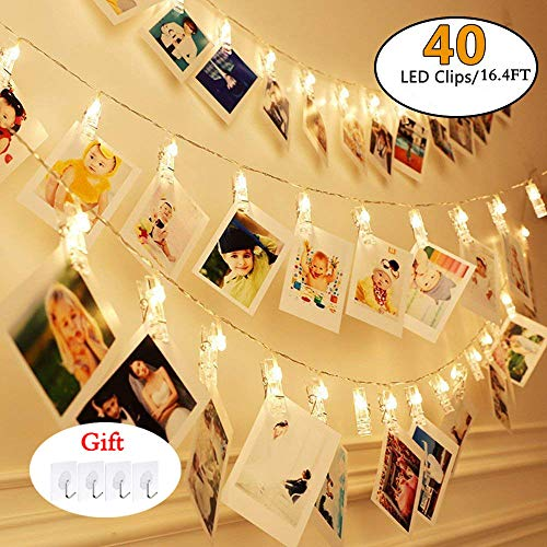 40 Led White Fairy Lights