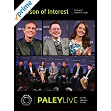 Person of Interest: Cast and Creators PaleyLive
