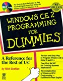 Windows CE 2 Programming for Dummies, Nick Gratten, 0764503049