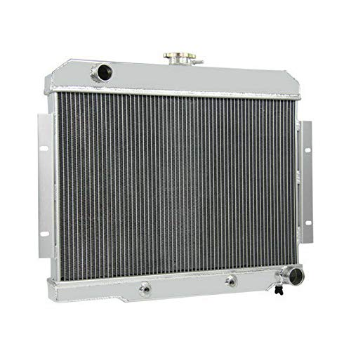 CoolingCare 3 Row Aluminum Radiator for 1970-1985 Jeep CJ5 /CJ6 /CJ7 Chevy V8 Conversion