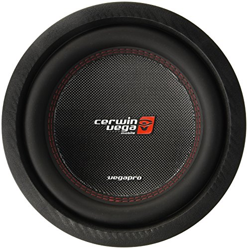 CERWIN VEGA VPRO104D Pro 1400 Watts Max 10-Inch Dual Voice Coil Subwoofer 4 Ohms/700 Watts Power - Outlet Las To Vegas Close
