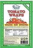 Blue Mountain Organics, Raw, Vegan, Paleo, Tomato Wraps (4 wraps), 5.5oz (156 g) For Sale