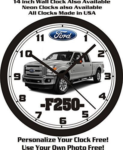 2016 FORD F250 PICKUP TRUCK WALL CLOCK-FREE USA SHIP! for sale  Delivered anywhere in Canada