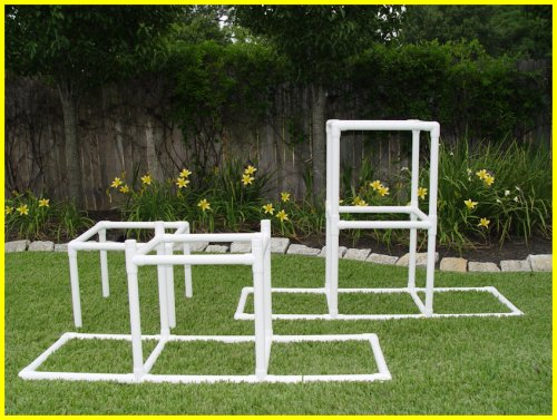 Dog Walk Bases - Adjustable 24'' & 48'' -Dog Agility Equipment by Weave Poles