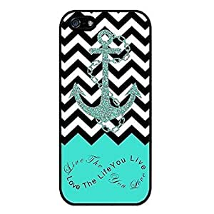 good case S9Q Anchor Chevron Retro Vintage Tribal Nebula Pattern Hard Case Cover Back Skin Protector For Apple iPhone 6 4.7 Style C Blue