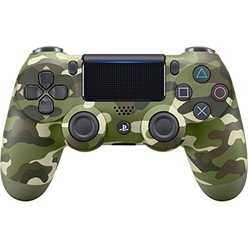 DualShock 4 Wireless Controller for PlayStation 4 -  Green Camouflage (Camera Control Sony)