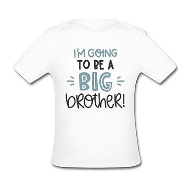 Bernie Gresham Infant Tee Big Sister Baby Organic Short Sleeve T-Shirt White