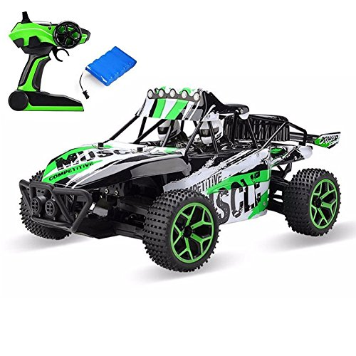 Remote Control Car Electric RC Cars for Kids Adults, High Speed 1/18 Scale Rc Trucks 4WD Off road Racing Vehicle, 2.4Ghz Radio Remote Control Car