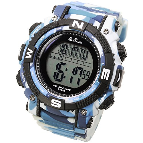 (LAD WEATHER Powerful Solar Watch - Military/Camouflage Pattern/Combat Style (cmbl-no))