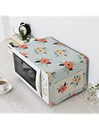 Microwave Oven Cover Dust Cover Household Electric Oven Cover Cloth Cotton And Linen Multi-Purpose Cover Towel 31 93cm
