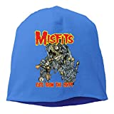 Mens Misfits Cuts From The Crypt Slouchy Beanie Watchcap