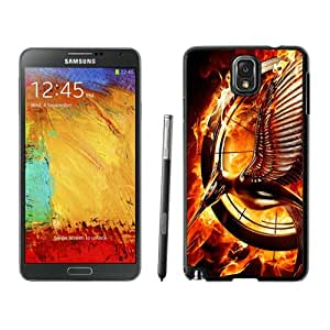 Hot Sale Samsung Galaxy Note 3 Case ,Beautiful Unique Designed Case With Catching Fire Black Samsung Galaxy Note 3 Cover