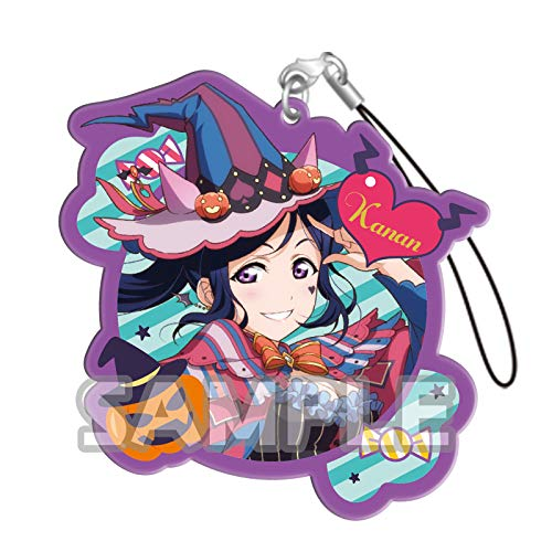 Bushiroad Love Live Sunshine!! Kanan Matsuura Halloween Ver. Character Gacha Capsule Acrylic Straps Mascot Collection Vol.3 Anime Art]()