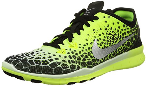 Fit Silver Tr US Mtllc 5 Women Vlt Nike Women's 0 Training White 5 Free Prt Shoe Black wUqXB6f