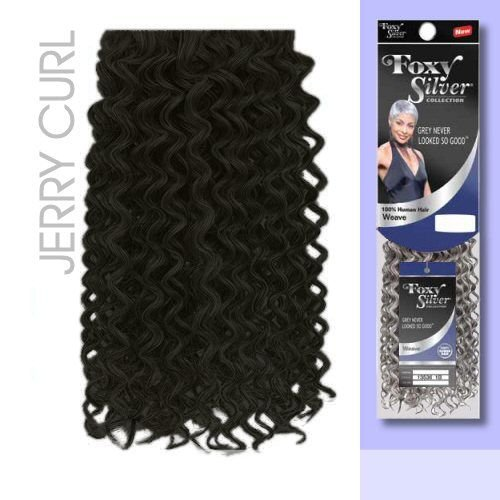 FOXY WEAVE JERRY CURL12 Silver product image