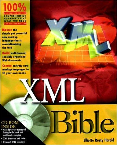 XML Bible, w. CD-ROM