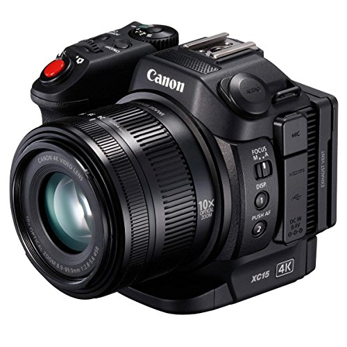 Canon XC15 4K Professional Camcorder, Black (1456C002) by Canon
