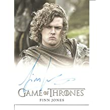 Game of Thrones Finn Jones as Loras Tyrell Autograph Trading Card