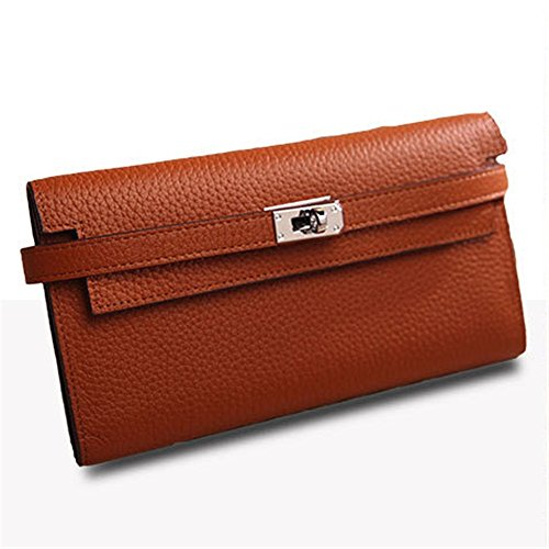- Dig dog bone New Leather Color More Than Men and Women General Purse Hand Bag Mobile Phone Can Be Put On Large Capacity Contracted and Able to Bear Or Endure Look (Color : Brown)