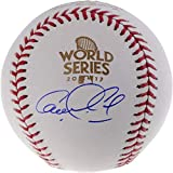 Carlos Correa Houston Astros Autographed 2017 World Series Logo Baseball - Fanatics Authentic Certified