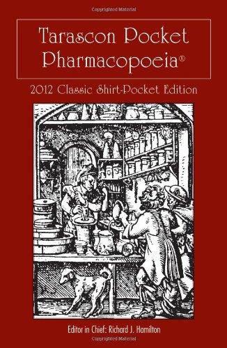 Tarascon Pocket Pharmacopoeia 2012 Classic Shirt-Pocket...