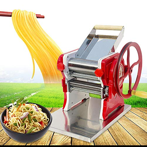 Pasta Machine,Multi-Functional Home Commercial Manual Noodle Pasta Dumpling Skin Maker Machine Automatic Electric Makers Mult-Function Dough Making from LOYALHEARTDY19