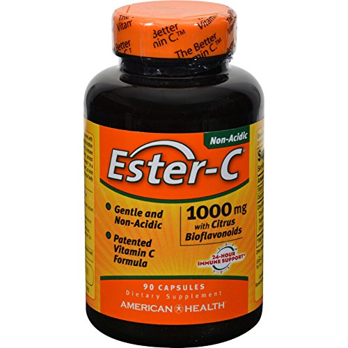 2Pack! American Health Ester-C with Citrus Bioflavonoids - 1000 mg - 90 Capsules by Bioflavonoids