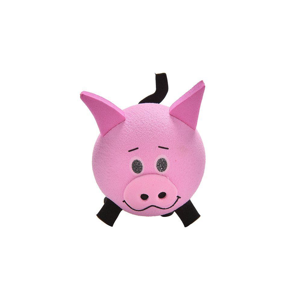 Cute Pig Eva Decorative Car Antenna Topper Balls Pink New Best