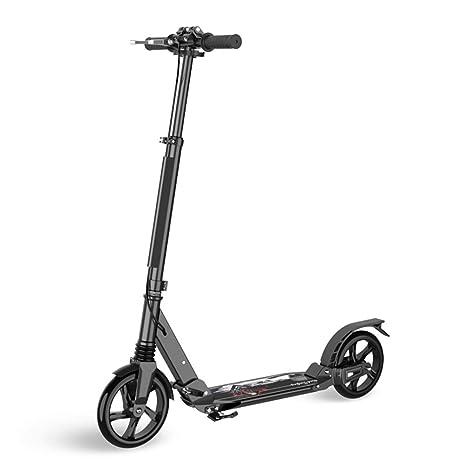 Amazon.com: Patinetes de 2 ruedas para adultos con freno de ...