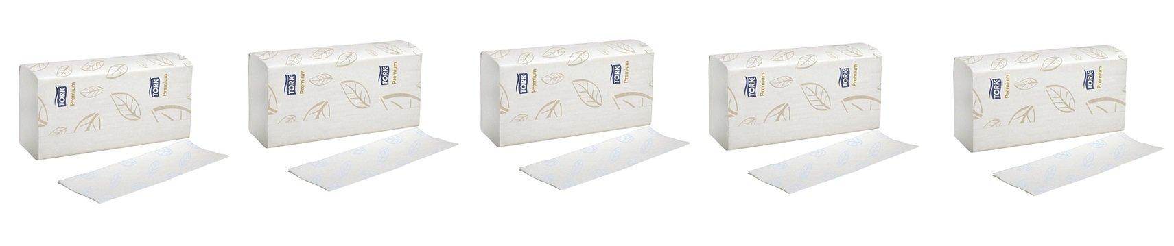 Tork MB578 Xpress Premium Soft Multifold 3-Panel 2-Ply Hand Towel, White (5-(16 Packs))