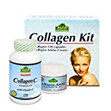 Product review for Collagen Kit 2 Pieces - Collagen Hydrolysate Capsules - Collagen Amino Cream - Anti Aging - Anti Wrinkle