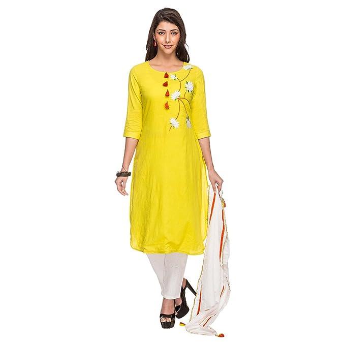 Amazon.com: Haute Curry para mujer sólido bordado para ...