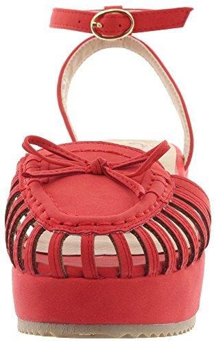 Danse De Jours De La Sandales Femmes Des Mode Rouges y6zEPPcw7