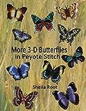 More 3-D Butterflies in Peyote Stitch