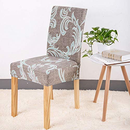 Amazon.com: Floral Printing Anti-Dirty Stretch Chair Covers Elastic ...
