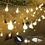 coersd String Lights USB Powered with 100 LED Globe String Lights Home Decorative Light Lantern