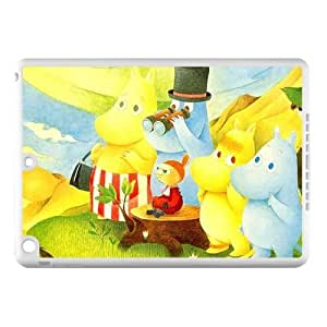 Classic Finland Comics Series Moomin Valley&Muumi Theme Case Cover for IPad Air - Hard PC Back&4 sides TPU Protective Case Shell-Perfect as gift