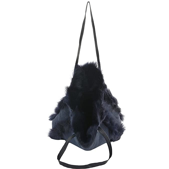 fc5cd4195921 Ashwood Womens Toscana Sheepskin Leather Bag Navy brissa   Avian NA   Amazon.co.uk  Shoes   Bags