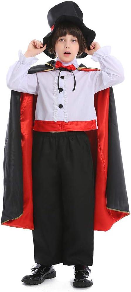 Disfraz de Mago mágico del día de Halloween para niños, Disfraz de ...