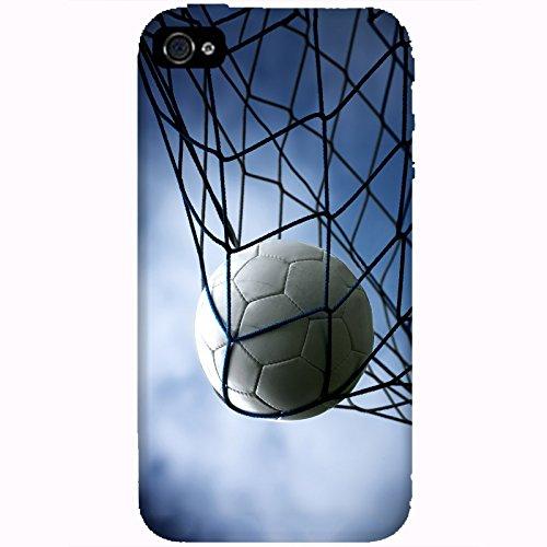 Coque Apple Iphone 4-4s - Ballon de Football