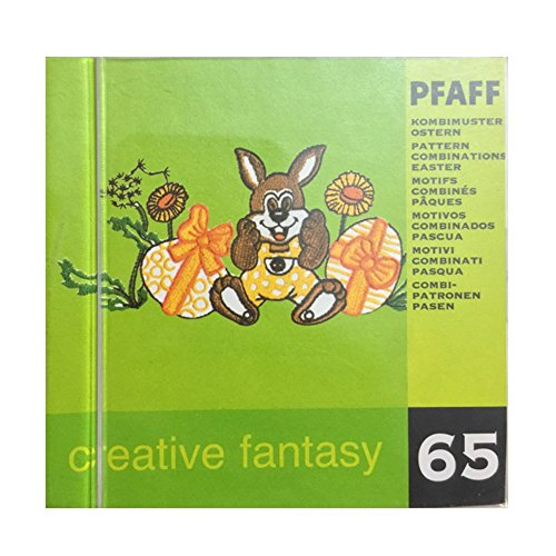Pfaff Creative Fantasy Embroidery card design #65 for 7570 and others - Easter