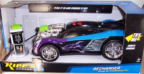 Road Rippers Recharger - Purple/Blue with Gas Pump for sale  Delivered anywhere in USA