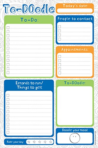 To-DOodle Daily Planner and Note Pad
