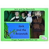 The Puppet Company - Traditional Story Sets - Jack & the Beanstalk Finger Puppet Set by The Puppet Company