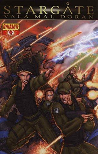 Stargate: Vala Mal Doran #4 VF/NM ; Dynamite comic - Mal Brandon