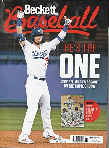 August 2019 Beckett Baseball Price Guide Magazine Vol 19 No 8 Cody Bellinger (Best Baseball Card Price Guide)