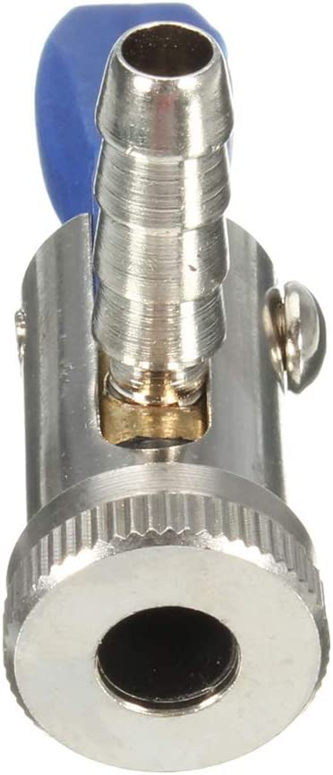 6 mm Domeilleur 6/mm//8/mm Thumb-Lock Mandrin /à air pour Moteur V/éhicules Pneu gonflage /à raccord Rapide Outil