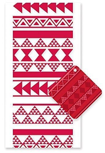 Hawaiian Candy Lei Kit Tapa Red