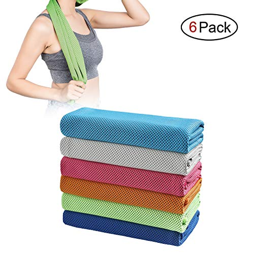 SIMSIMY Cooling Absorbent Microfiber Athletes