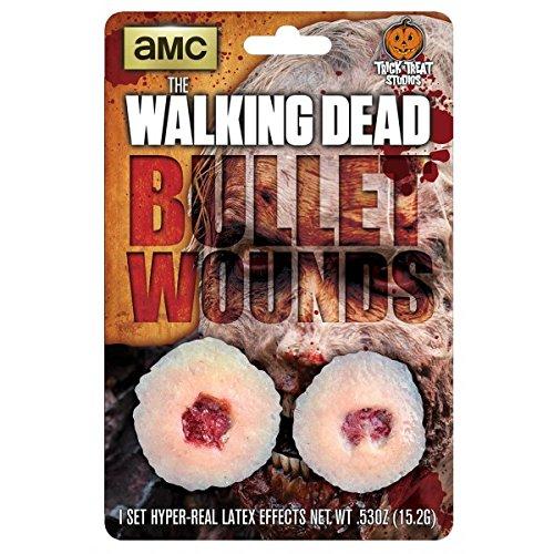 Trick Or Treat Studios The Walking Dead: Walker Bullet Wound Appliance]()